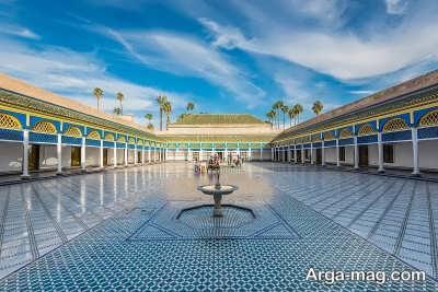 دیدن کردن از قرص باهیه در مراکش