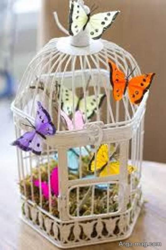 ایده هایی زیبا و خارق العاده از تزیین قفس پرنده