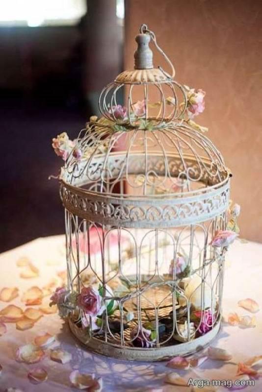 ایده هایی زیبا و لوکس از تزیین قفس پرنده