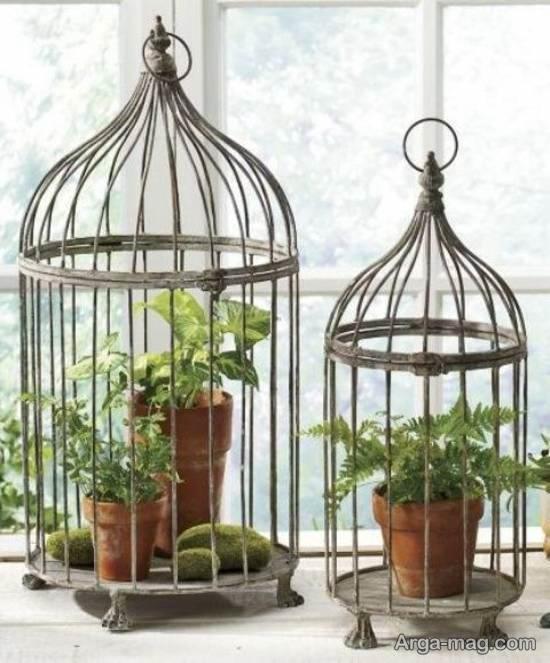 ایده هایی زیبا و بینظیر از تزیینات قفس پرنده