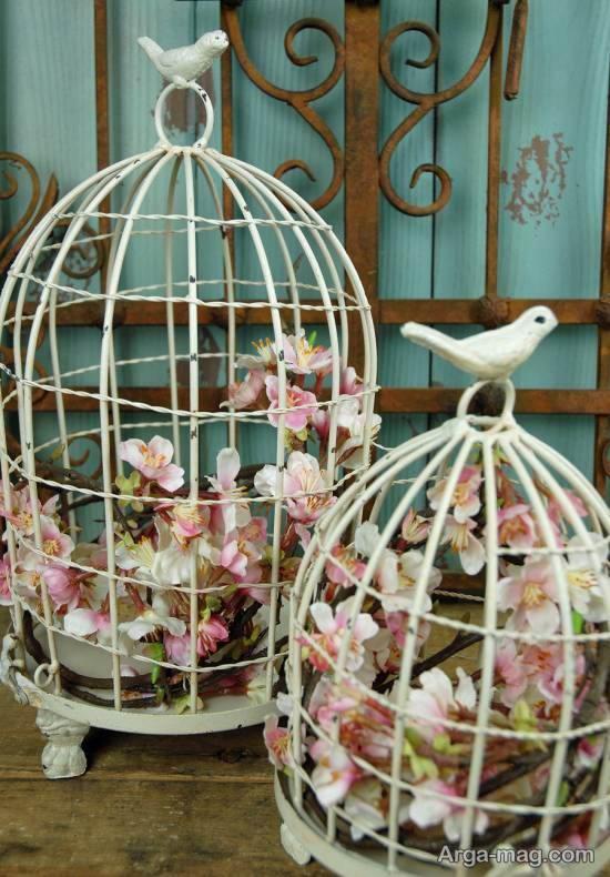 ایده هایی زیبا و بینظیر از تزیین قفس پرنده