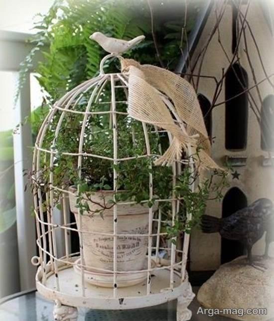 نمونه هایی ایده آل از تزیین قفس پرنده