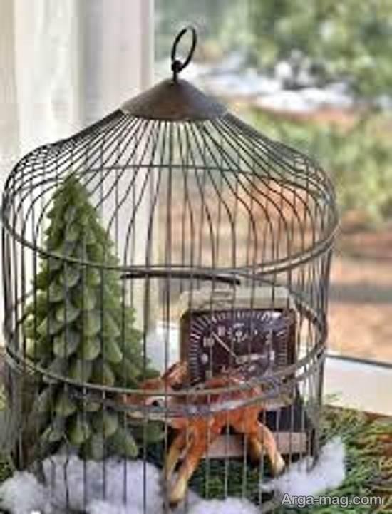گالری شیکی از تزیینات قفس پرنده