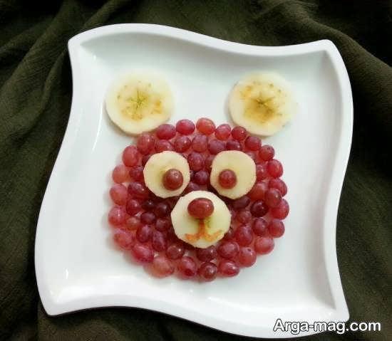 ایده هایی زیبا و خلاقانه از تزیین بشقاب میوه