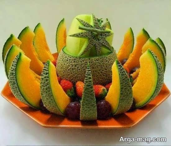 ایده هایی منحصر به فرد و دوست داشتنی از تزیینات بشقاب میوه