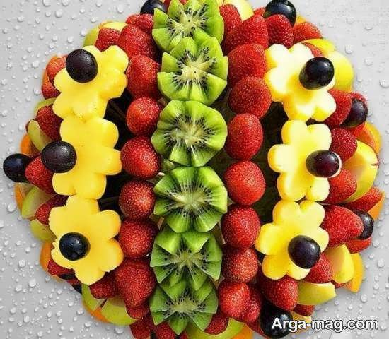 ایده هایی بینظیر از تزیین بشقاب میوه