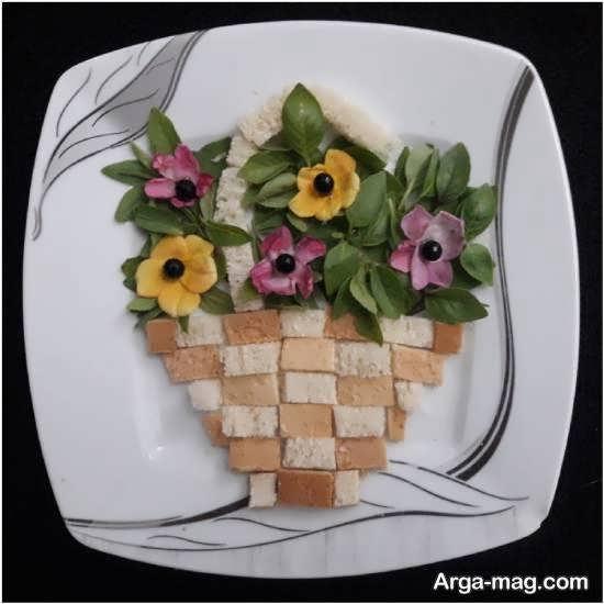 مجموعه ای خلاقانه و خاص از تزیینات نان تست