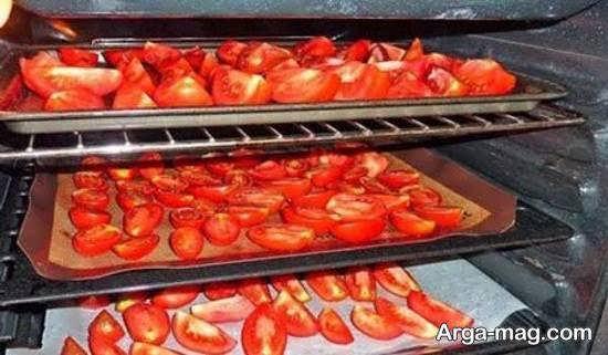 آموزش خشک کردن گوجه فرنگی با استفاده از 4 روش