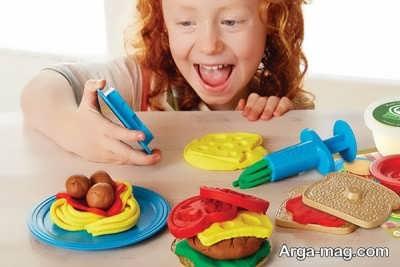 تاثیر خمیر بازی بر خلاقیت کودکان