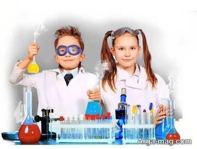 تاثیر انجام آزمایش های علمی در منزل