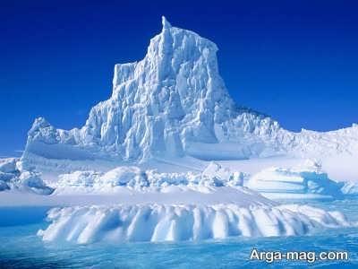 آتشفشان های رایج در قطب جنوب