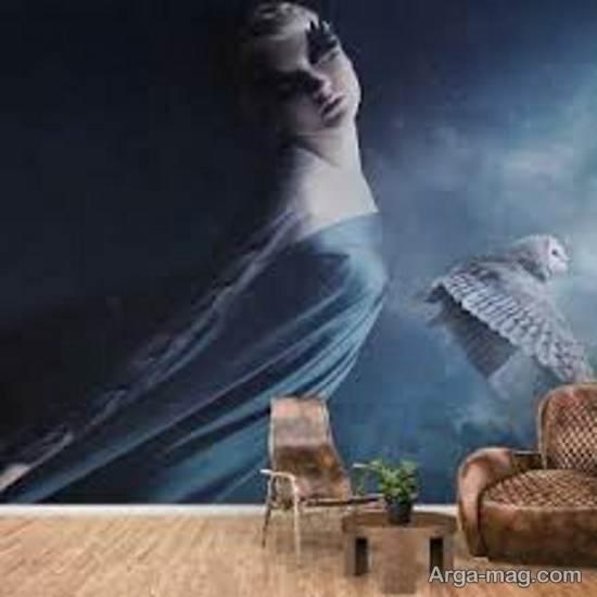 مجموعه ای زیبا و جذاب از کاغذ دیواری غیر واقعی