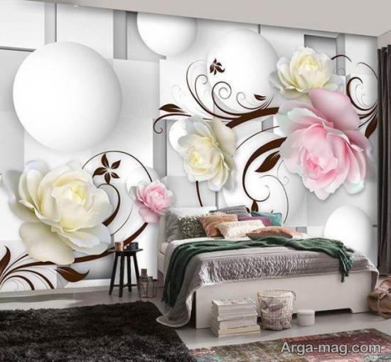 ایده های زیبا و متنوع از مدل های کاغذ دیواری فانتزی برای پذیرایی