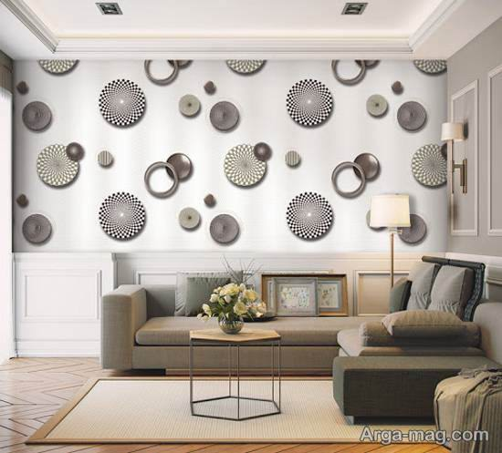 مدل هایی بینظیر و شیک از دیوارپوش های کاغذی با طرح فانتزی