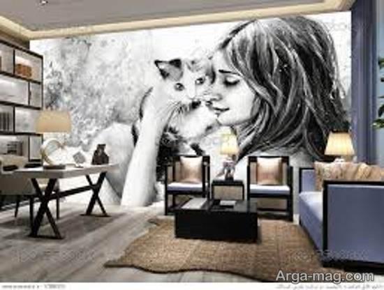 ایده هایی زیبا و خارق العاده از مدل های کاغذ دیواری خیالی با طرح های دوست داشتنی