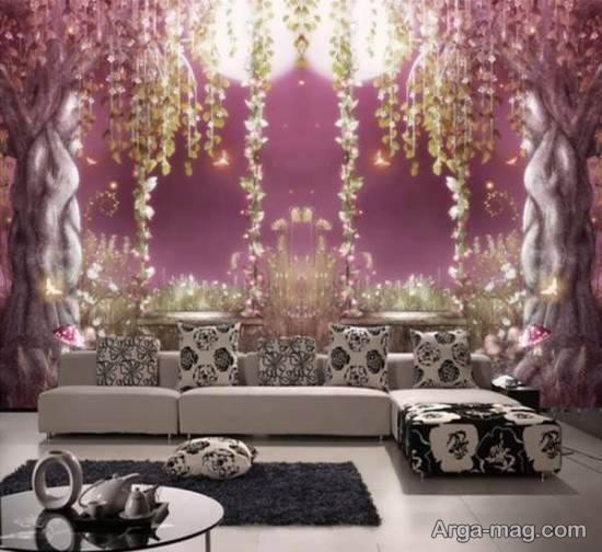 تزیین دیوارها به شکلی زیبا با مدل های دیوارپوش های فانتزی
