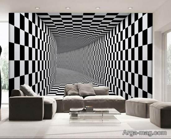 گالری زیبا و بینظیری از دیوارپوش های کاغذی با طرح فانتزی