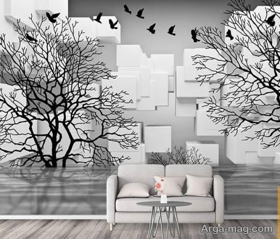 گالری زیبایی از کاغذ دیواری های فانتزی و لاکچری