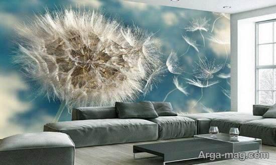 گالری زیبایی از دیوارپوش های کاغذی فانتزی