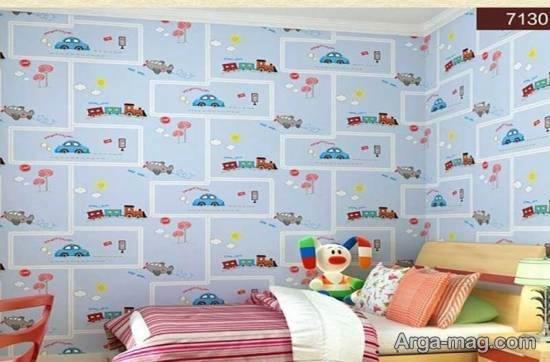 مجموعه ای بینظیر و متنوع از مدل های کاغذ دیواری های فانتزی