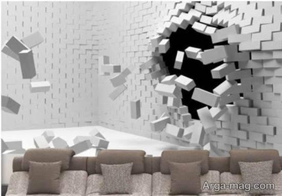 مجموعه ای ایده آل و زیبا از طرح های کاغذ دیواری خیالی