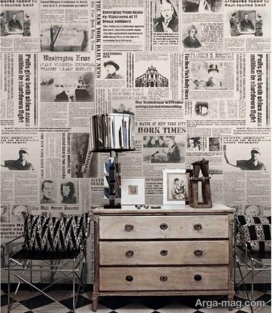 مدل های زیبا و جدید از کاغذ دیواری خیالی و غیر واقعی
