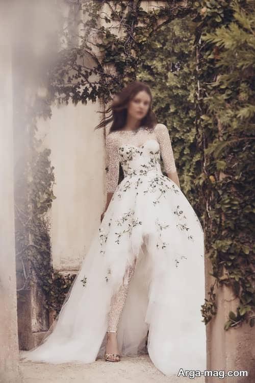 طرح لباس عروس شیک