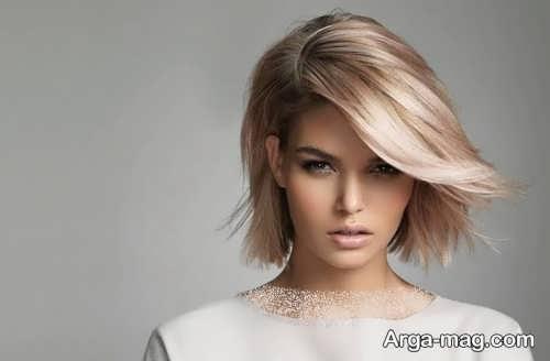 مدل مو زیبا و کوتاه دخترانه