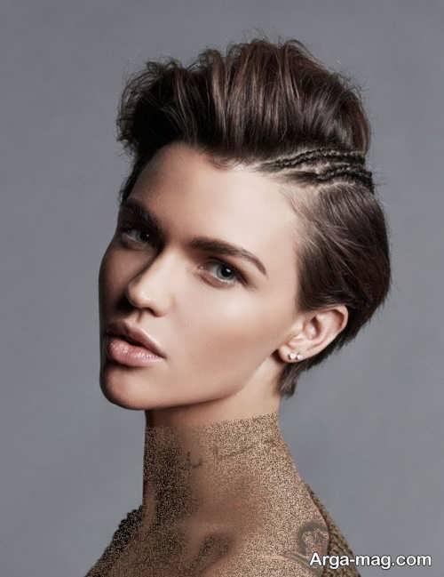 مدل مو زیبا و متفاوت دخترانه