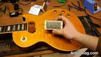 اکشن در گیتار