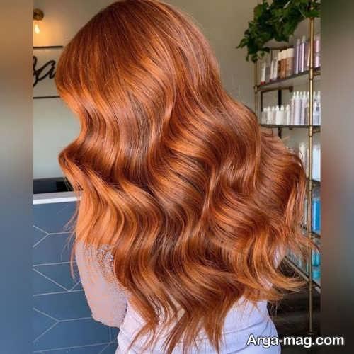 رنگ مو زنانه زیبا