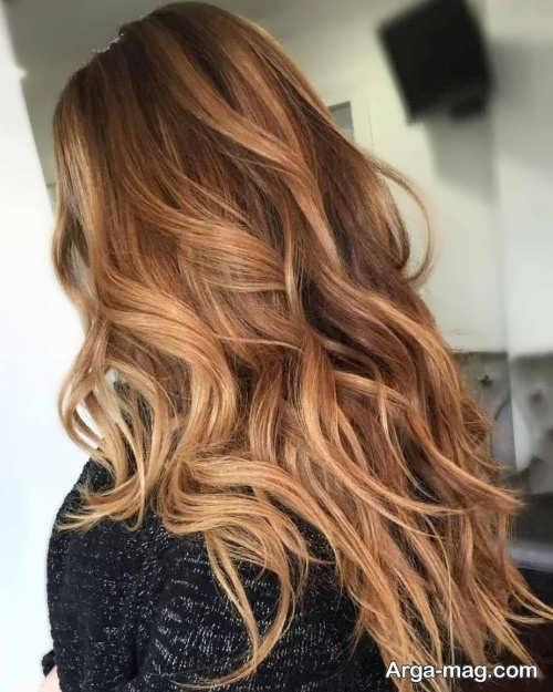 رنگ مو زنانه خاص