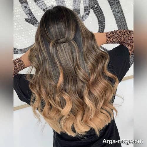 رنگ مو زیبا