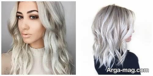 مدل رنگ موی شیک