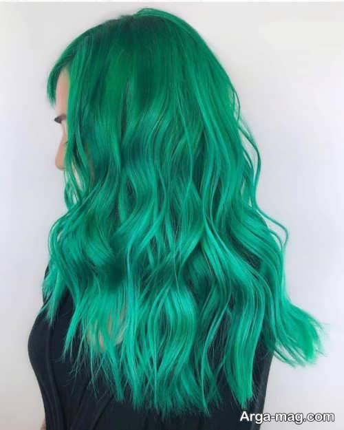 مدل رنگ موی شیک 2021