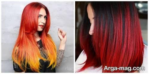 رنگ موی زنانه 2021