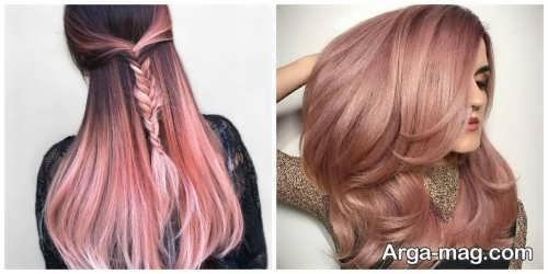 رنگ موی دخترانه 2021