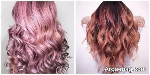 رنگ موی شیک 2021