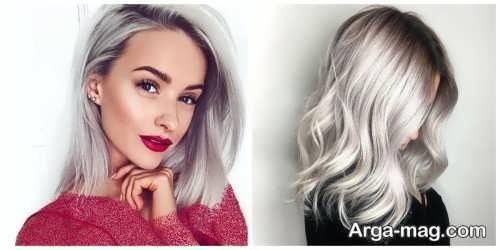 رنگ موی روشن 2021