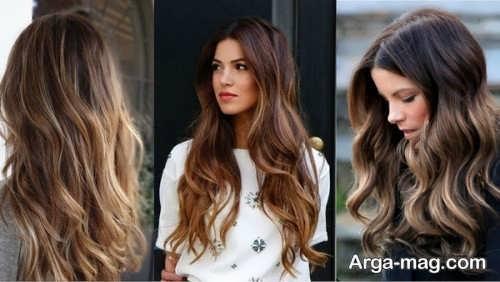 انواع رنگ موی 2021