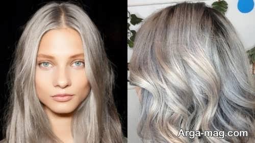 مدل رنگ موی زیبا
