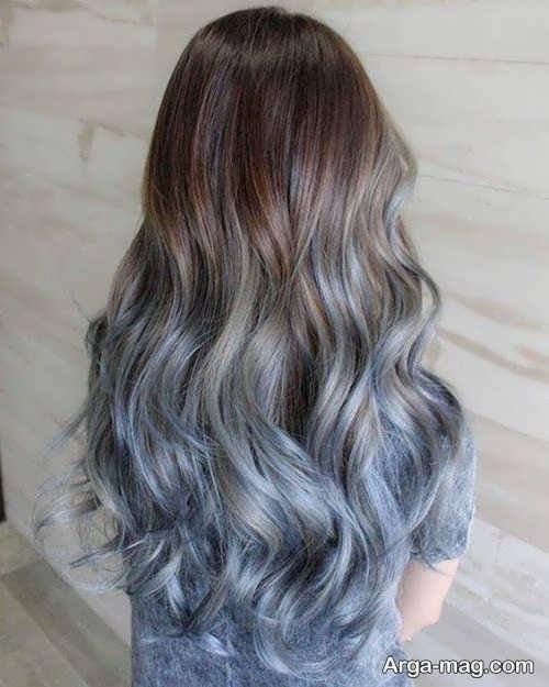 رنگ مو جذاب