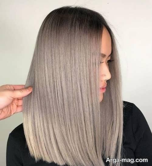 رنگ موی 2021 شیک