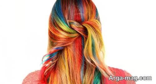 رنگ مو فانتزی 2021