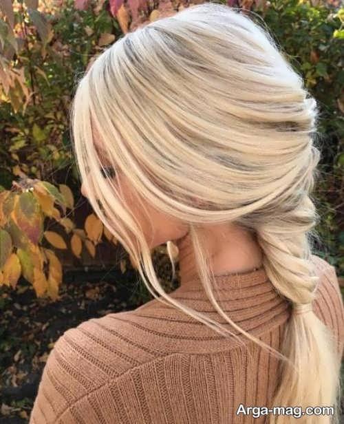 رنگ موی بلوند