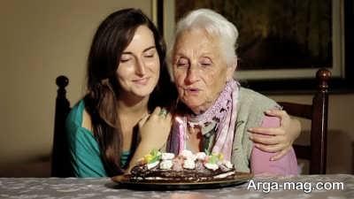 متن ناب برای تولد مادر بزرگ