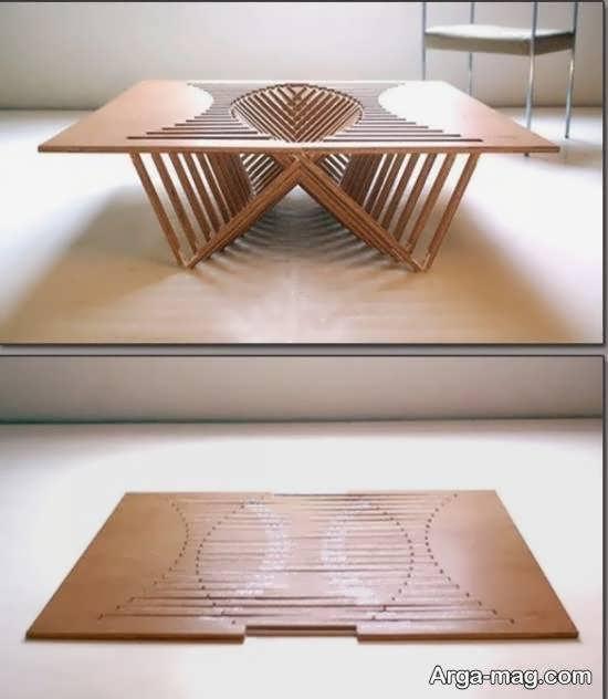 الگوهایی جذاب از میز ناهارخوری مخفی
