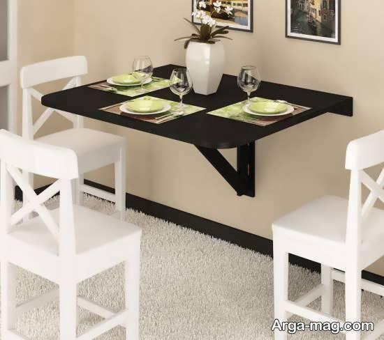 نمونه هایی شیک و منحصر به فرد از مدل های میز ناهارخوری مخفی