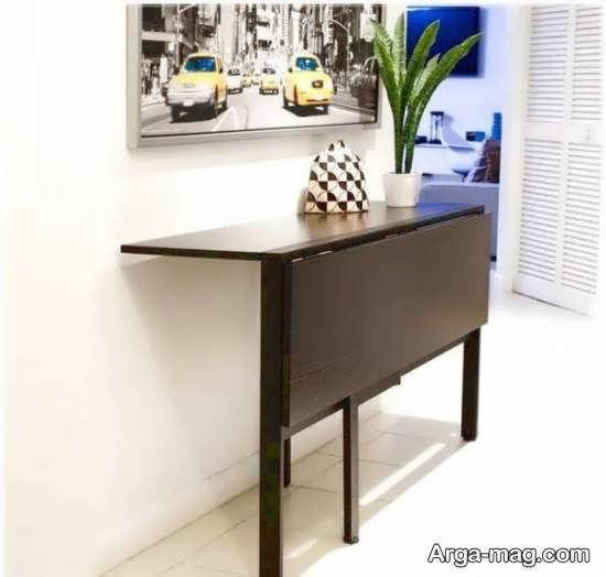 ایده هایی زیبا و جذاب از نمونه های ایده آل و بینظیر از مدل های میز ناهارخوری مخفی
