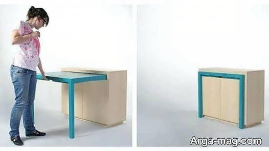 نمونه هایی شیک و منحصر به فرد از مدل های میز ناهارخوری پنهان